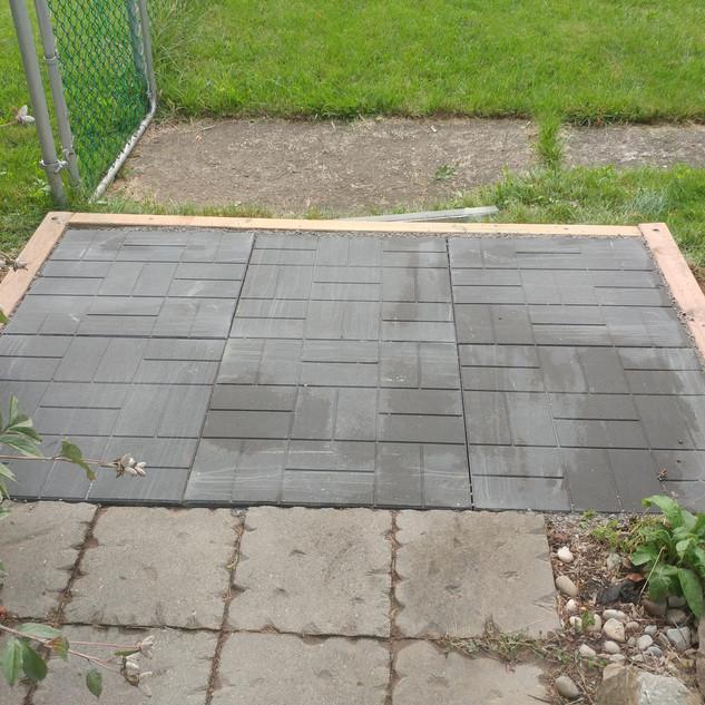Patio Stone Pad
