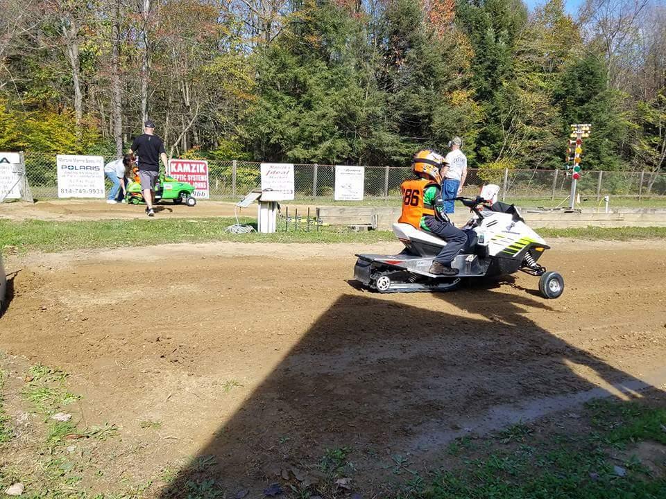 Snowmobile/ATV Grass Drag Race Season Finale
