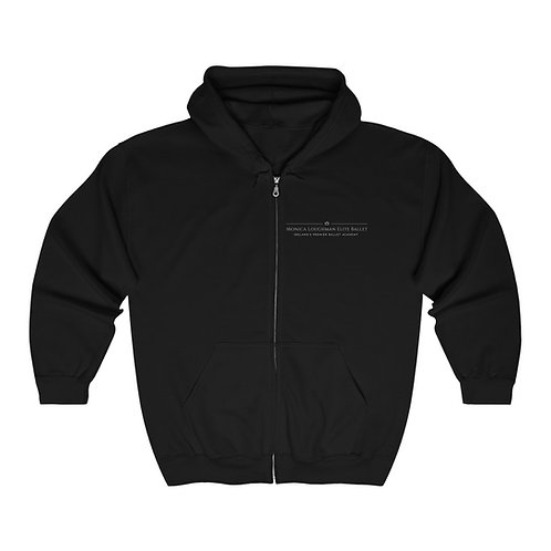 MLEB Unisex Full Zip Hooded Sweatshirt