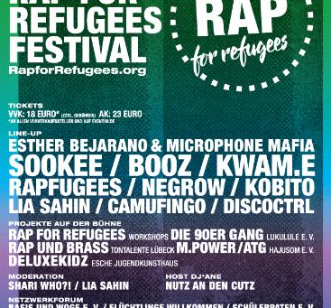 Rap for Refugees - Hamburg 2019