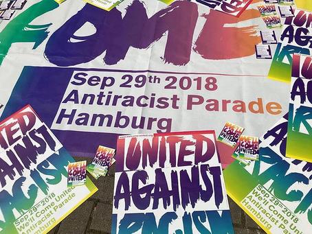 Rap for Refugees Berlin erfolgreich absolviert...nun geht es am 29.09.2018 zur Antirassismus Parade!