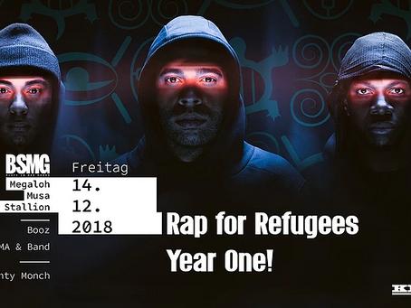 Rap for Refugees e. V. feiert einjähriges Bestehen!