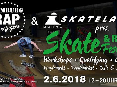 Skate&Rap-Festival läutet den Sommer ein; Teammeeting ein voller Erfolg!