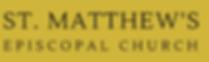 St. matthew's Mission Logo Web Banner (G