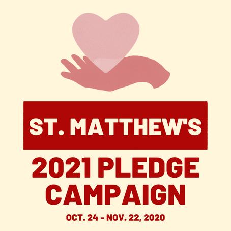 2021 Pledge Campaign