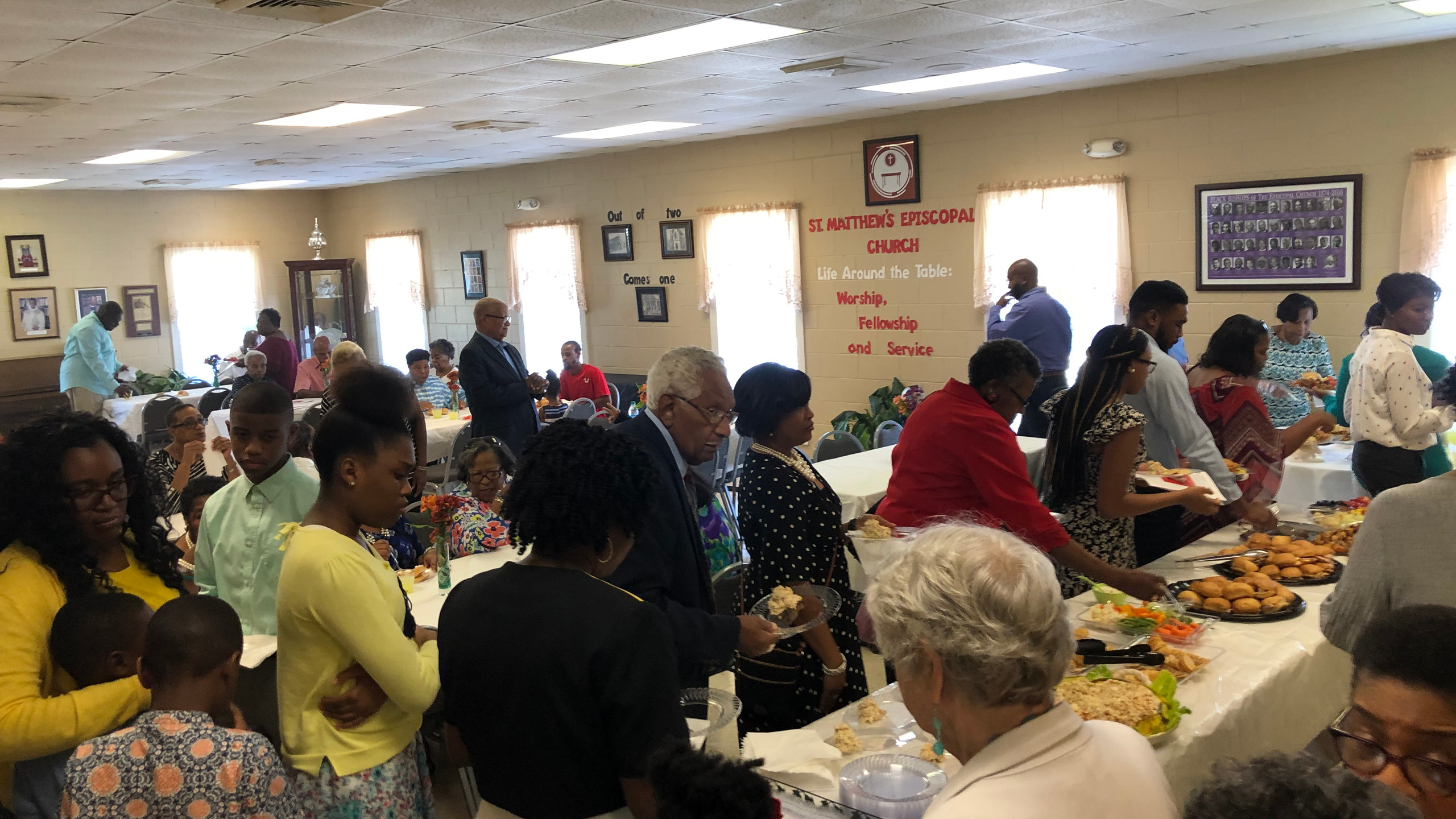 The Repast After Worship