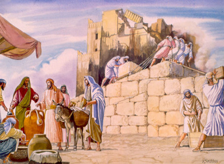 Building God's Temples (22nd Pentecost, Proper 27C)