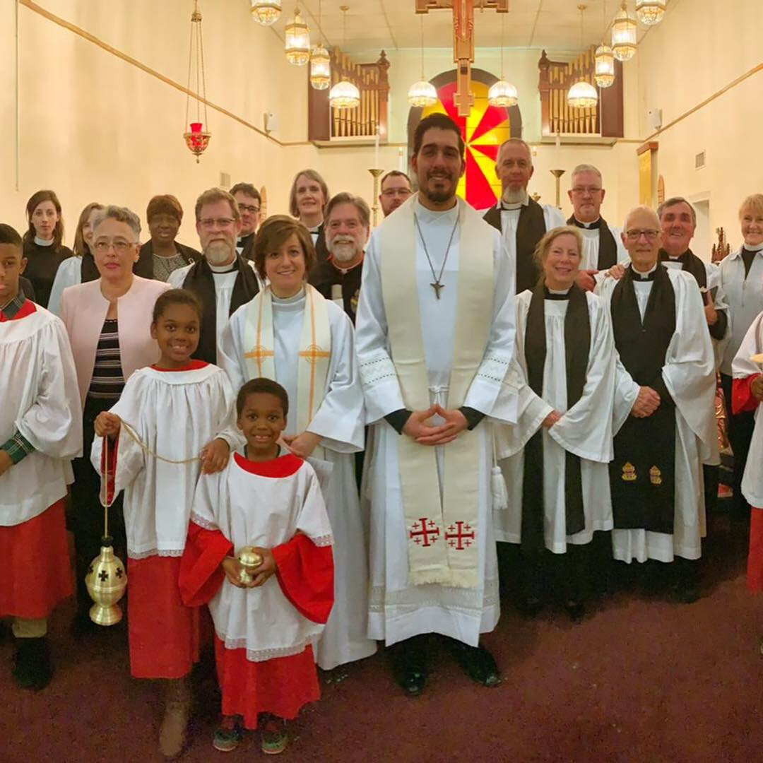 The Clergy, Vestry, & Altar Party