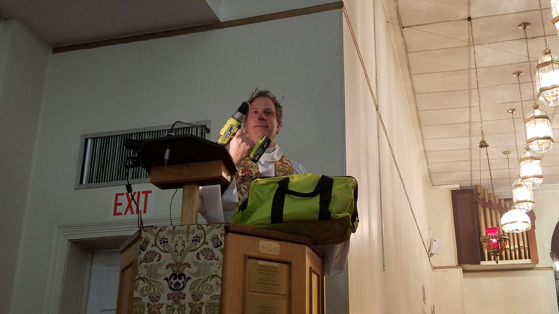 Canon Logue Preaching