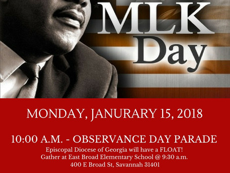 MLK Day Parade & Worship