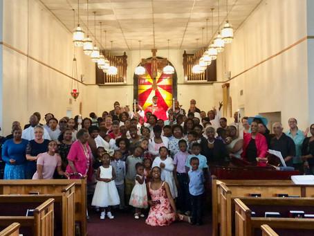 Generations of Faith (Feast of St. Matthew, 163rd Parish Anniversary, & Baptisms)