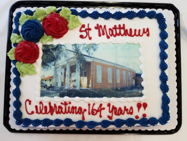 Our Celebratory Cake