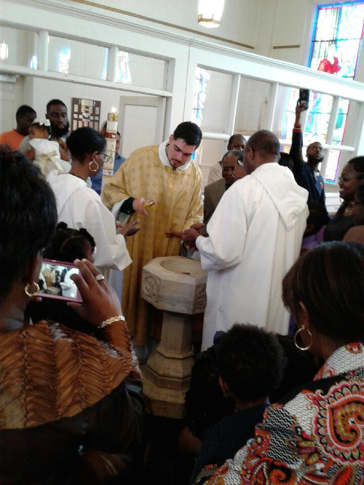 Baptisms on All Saints' Day 2016