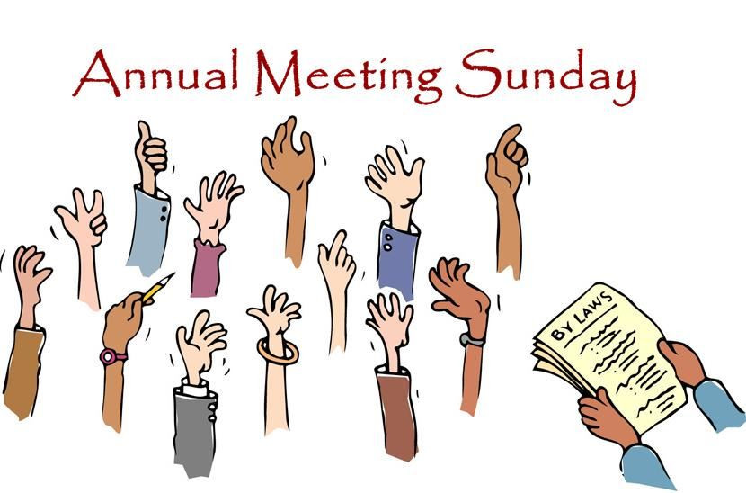 2021 Annual Meeting on January 31