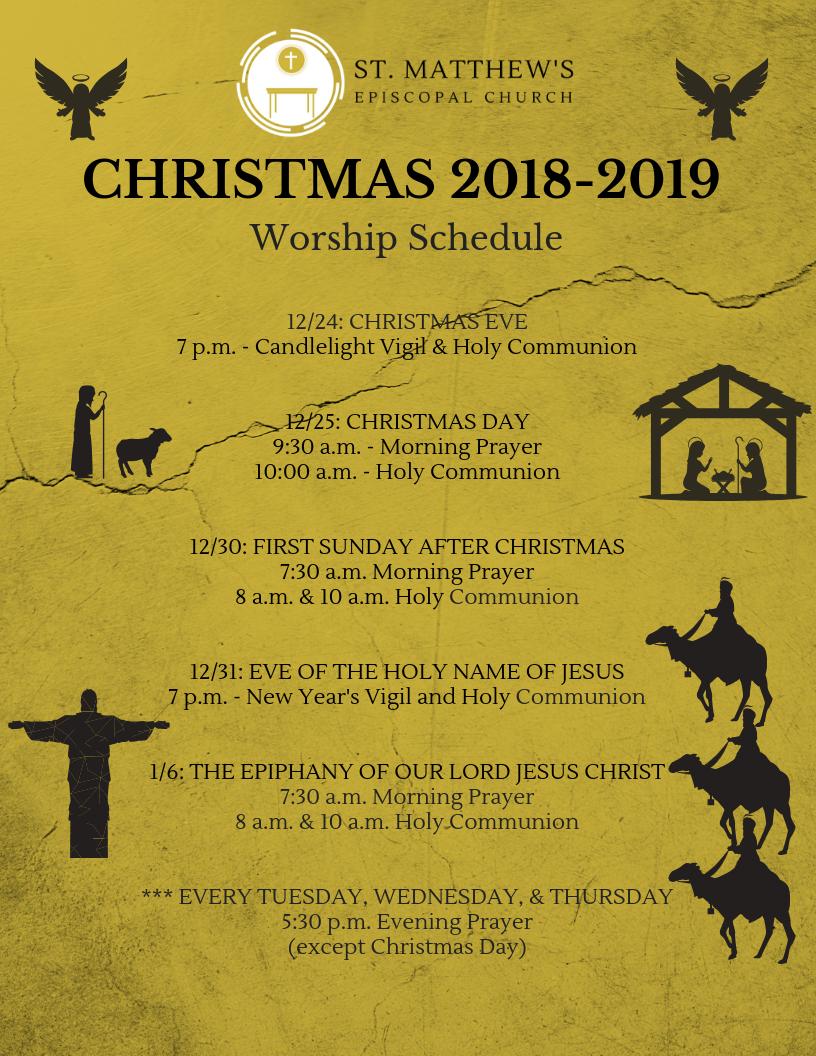 Christmas Eve 2020 Christmas Season 2019 2020