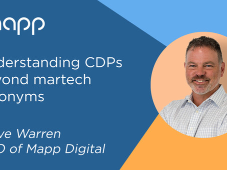Mapp's Customer Data Platform (CDP) simplifies cross-channel marketing