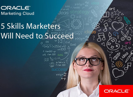 5 Skills Marketers Will Need to Succeed