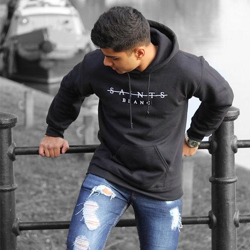 Embroidered Hoodie (Black)