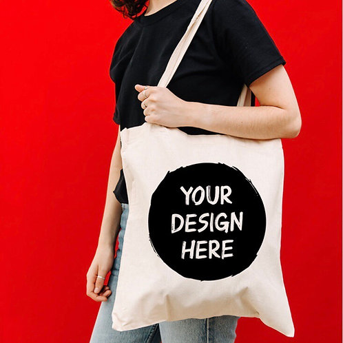 Tote bag - Any Text -  design