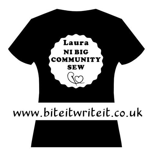 Transfer - Name / Large Logo - NI Big Sew