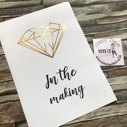 502... Diamond in the making