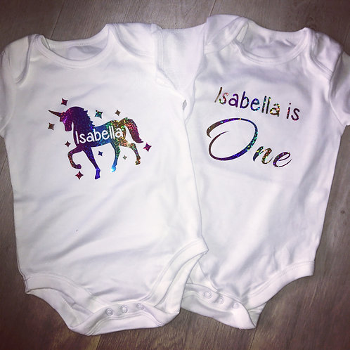 2 x Baby Suits