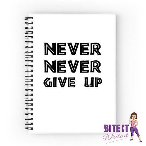 313... NEVER NEVER GIVE UP