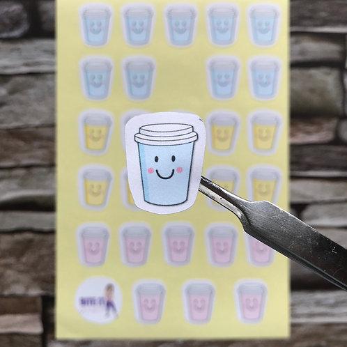 S03... colourful coffee / tea cup