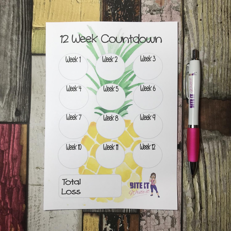Pineapple - 12 week countdown