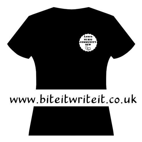 Transfer - Name / Small Logo - NI Big Sew