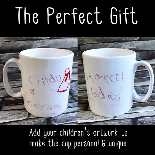 Children's Drawing - (discount on 1+ cups)