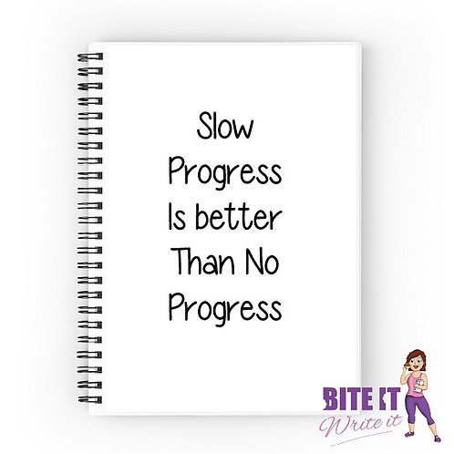 334... Slow Progress is better than no progress