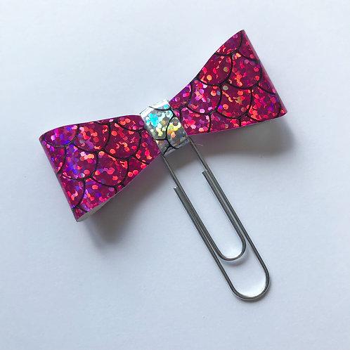 Dark Pink - Mermaid Bow