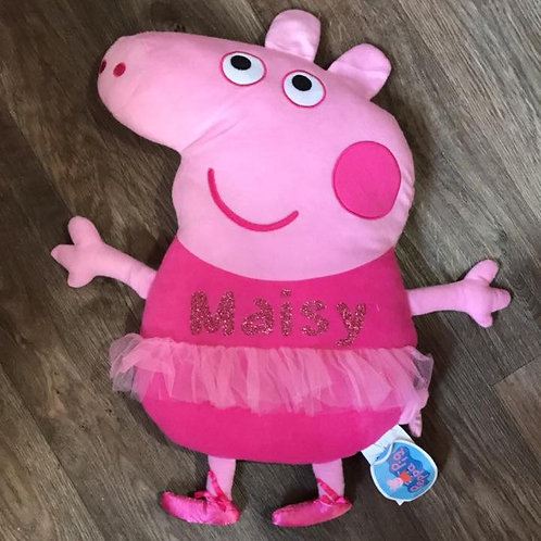 Large Peppa Pig Teddy Pillow
