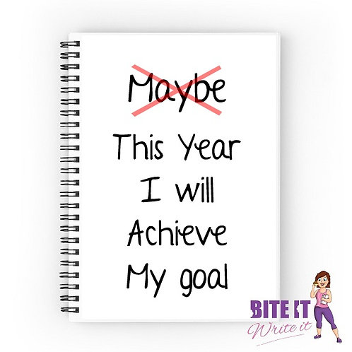 289... This year i will achieve my goal