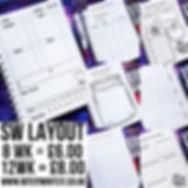 Slimming world layout__8 weeks journal -