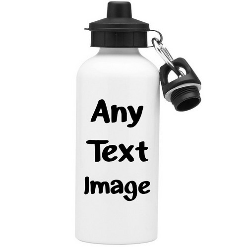 Bottle / Flask - any text / Photo