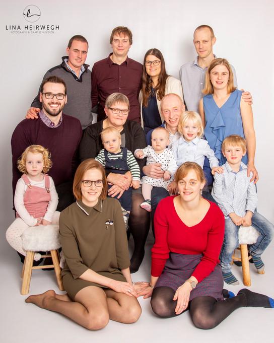 familieportret in Lokeren