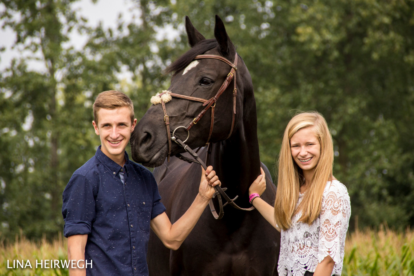 Kiara & Kamiel met Black Beauty