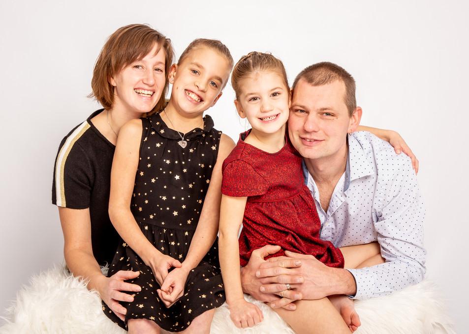 Familieportret in Zele