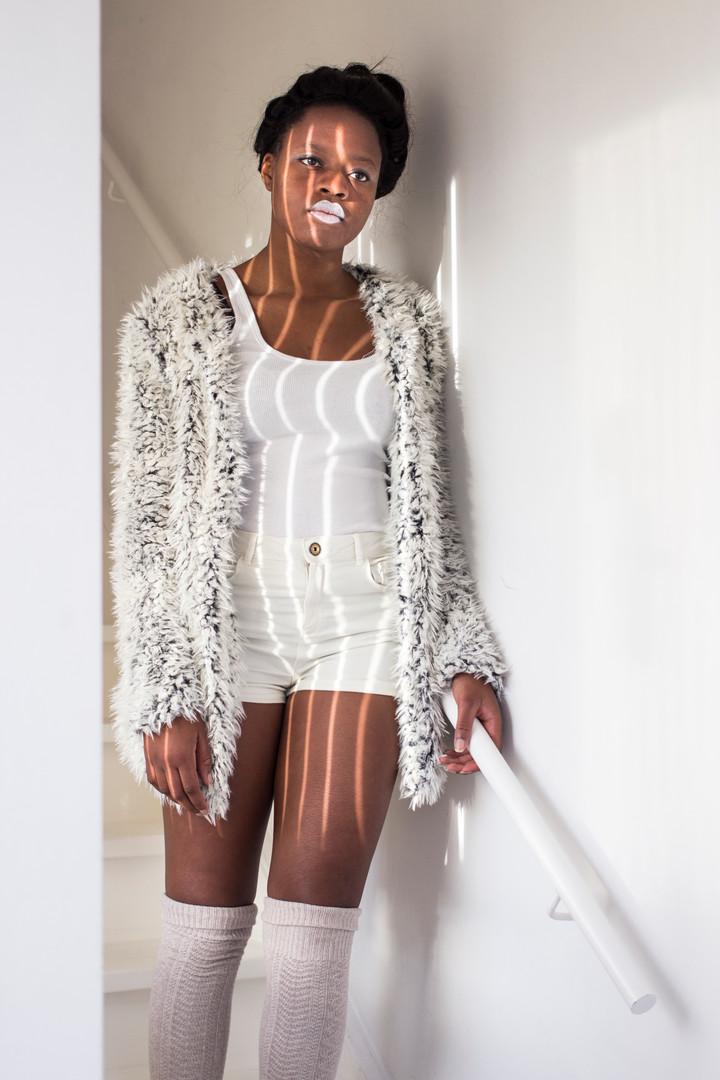 Model: Vanessa Pierre De Lee