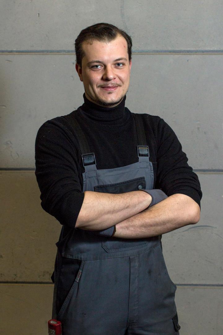 Portret garagist