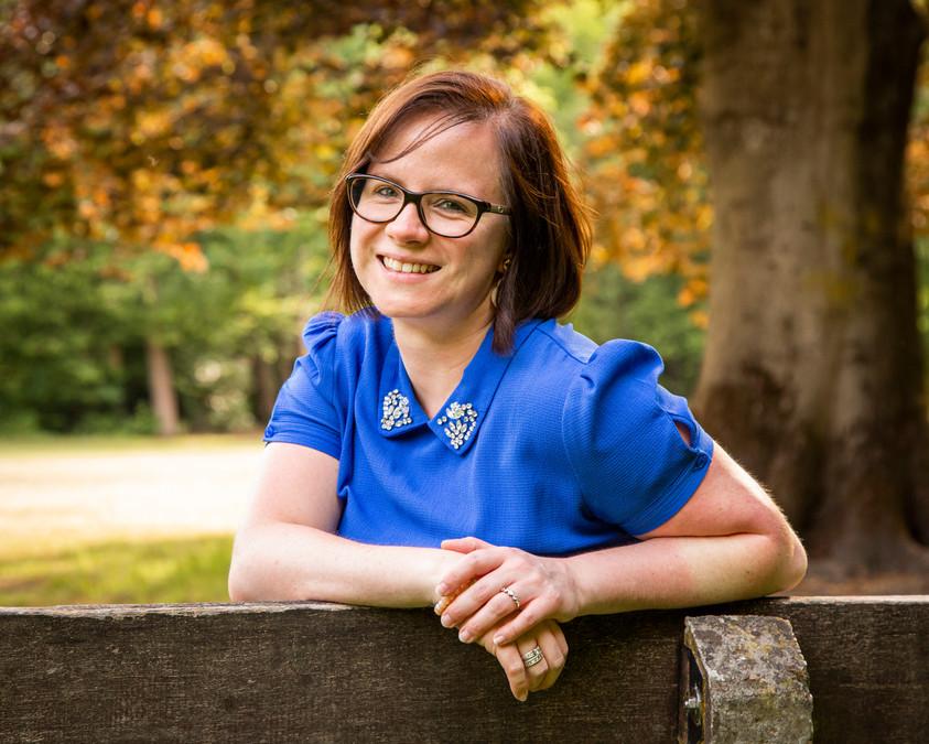 Portret voor diëtiste Stefanie Bollaert