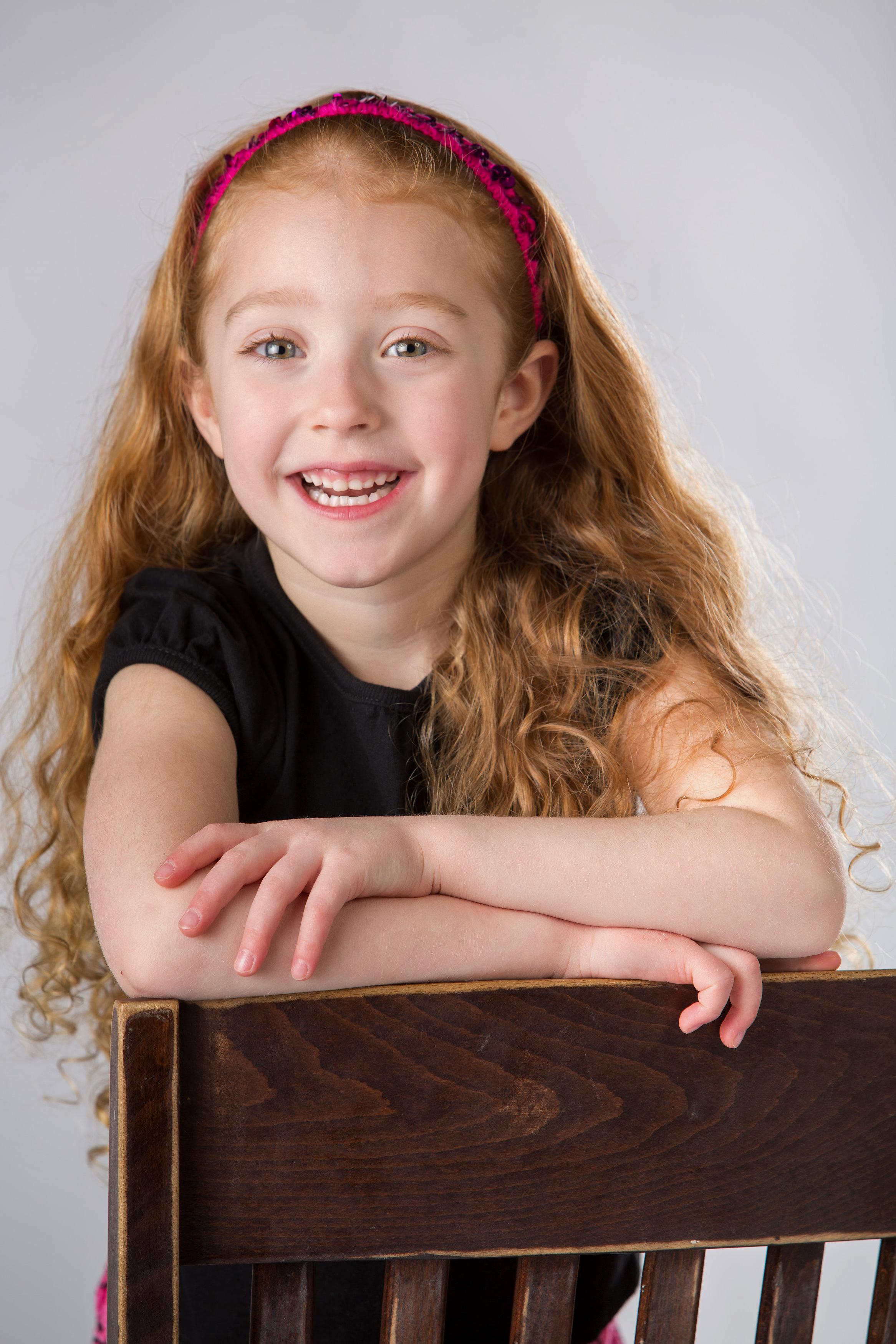 Childrens Studio Portrait