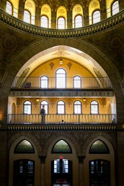 Architectural Groom Portrait