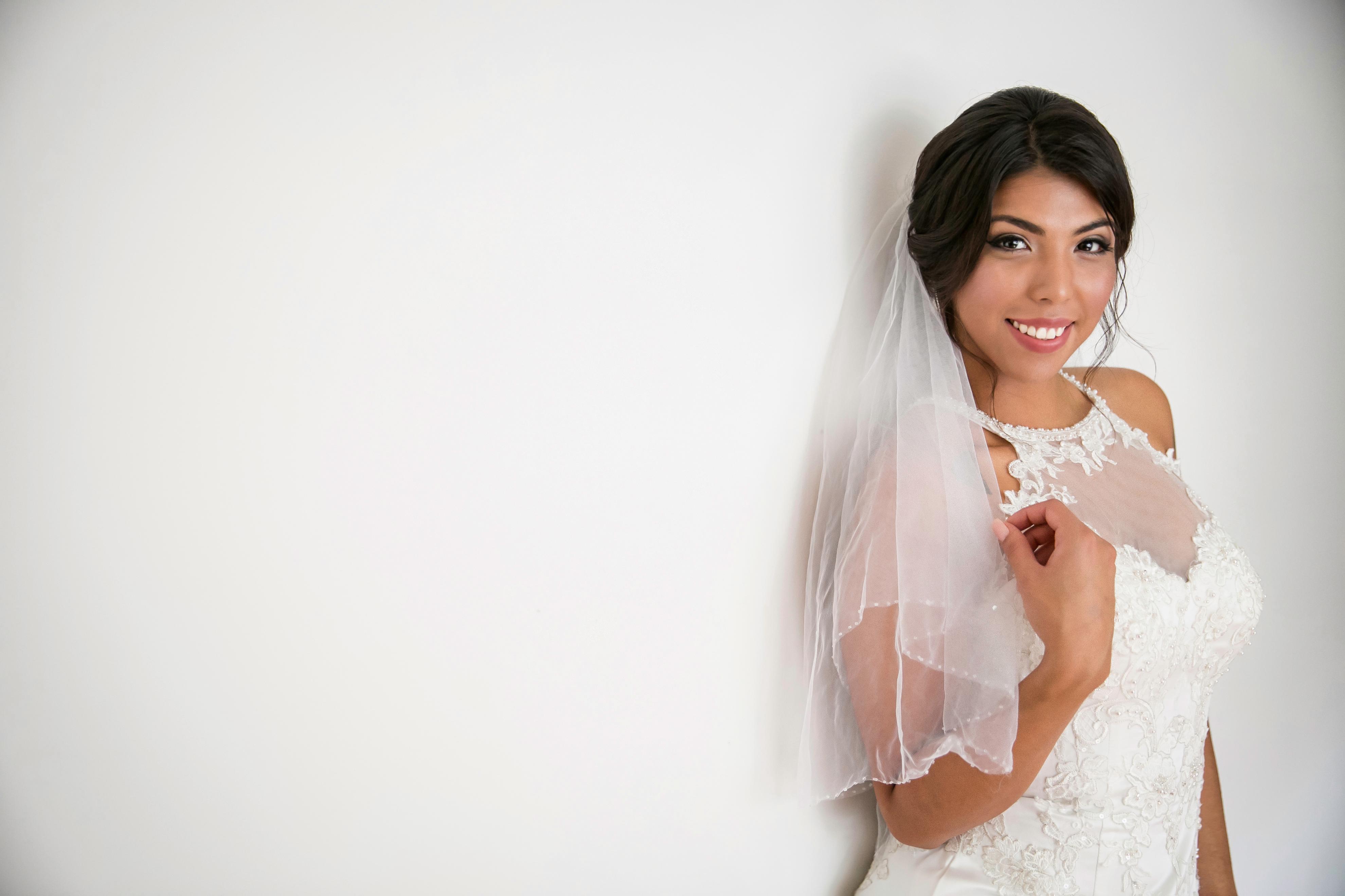 Simple Bride Portrait: Window Light