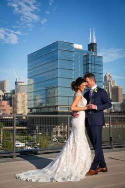 Chicago Rooftop Wedding
