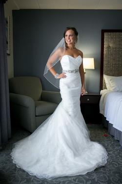 Simple Bride Portrait