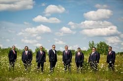 Groomsmen on the Prairie
