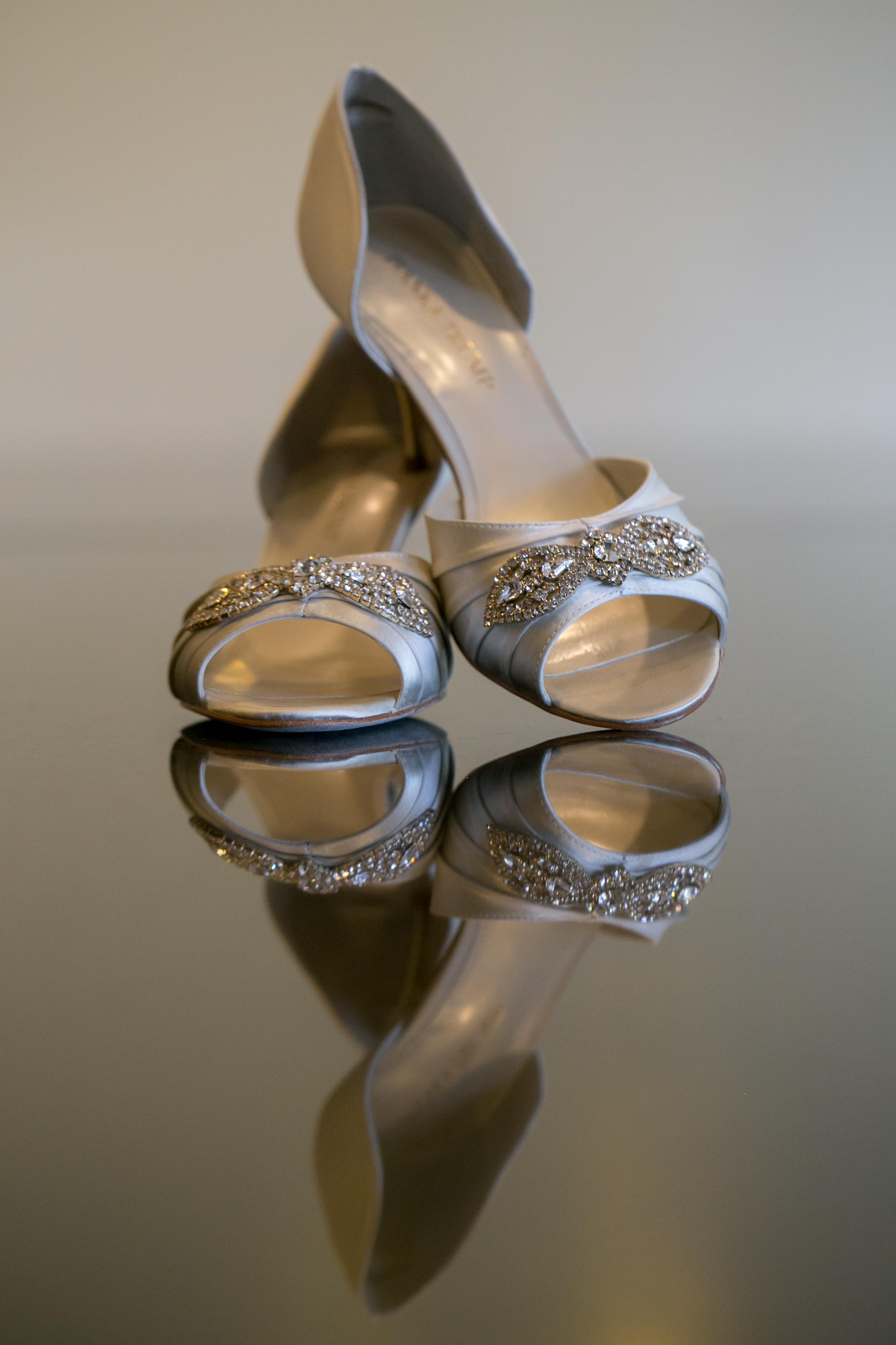 Wedding Details: Bride's Shoes
